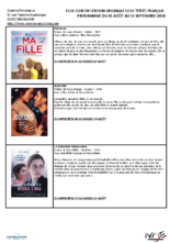 Programmation Film Club